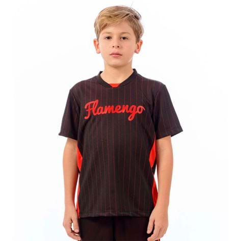 Camisa Flamengo Infantil Custom GG