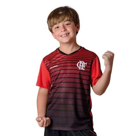 Camisa Flamengo Infantil Strike Braziline P