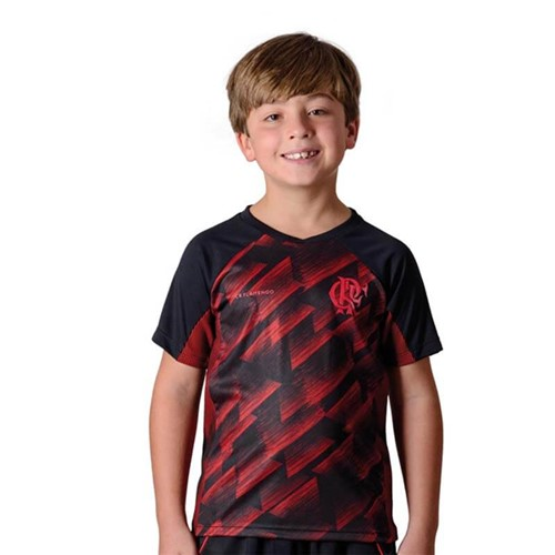 Camisa Flamengo Infantil Upper Braziline P