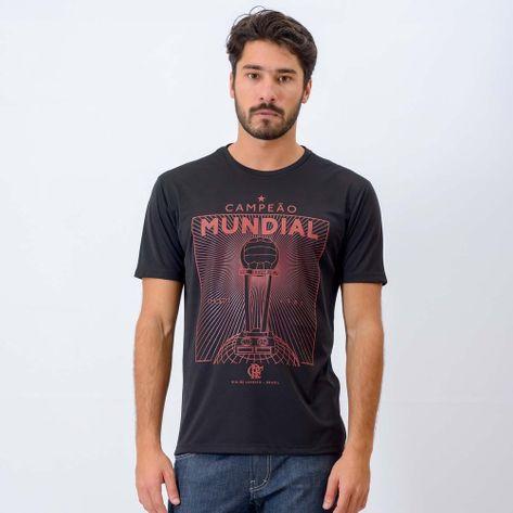Camisa Flamengo Mundial Braziline Preta P