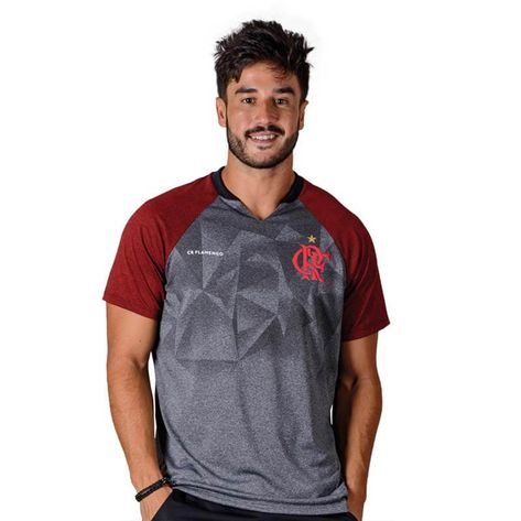 Camisa Flamengo Nitta Raglan Braziline P