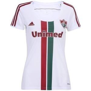 Camisa Fluminense Feminina Branca Adidas 2015