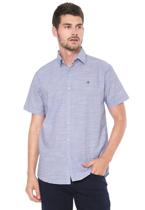 Tudo sobre 'Camisa Forum Reta Azul'