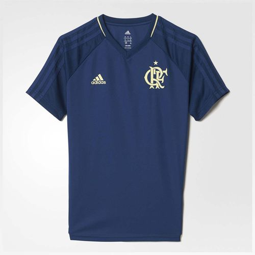 Camisa Infantil Flamengo Cr Adidas Azul