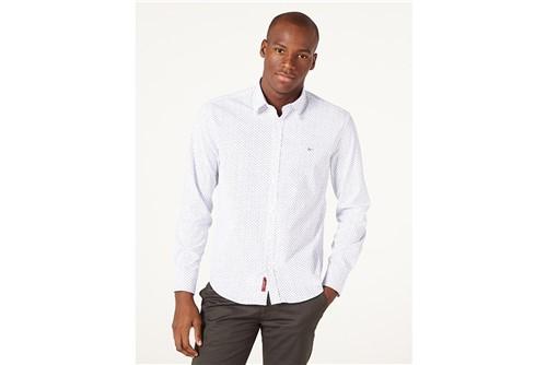 Tudo sobre 'Camisa Jeanswear Slim Ana Ruga Print - Branco - M'