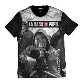Camisa - La Casa de Papel - PRETO - M