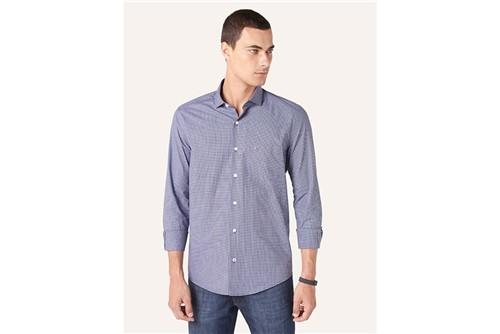 Tudo sobre 'Camisa Menswear Xadrez Mini - Azul - P'
