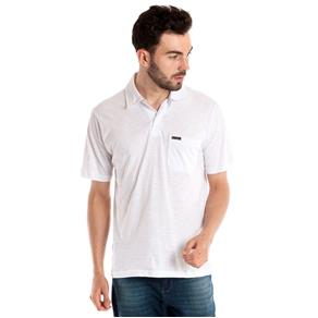 Camisa Polo Manga Curta - 30106 - BRANCO - P
