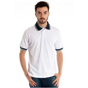 Camisa Polo Manga Curta 34808 - BRANCO - G