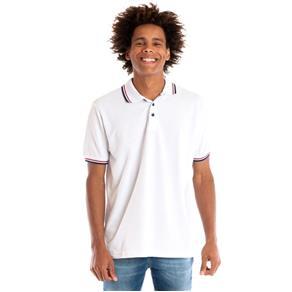 Camisa Polo Manga Curta 34809 - BRANCO - M