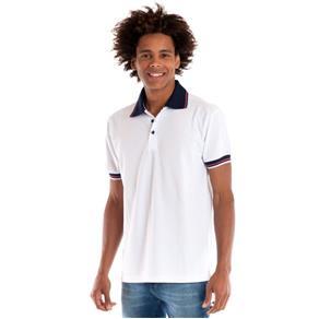 Camisa Polo Manga Curta 34812 - BRANCO - GG