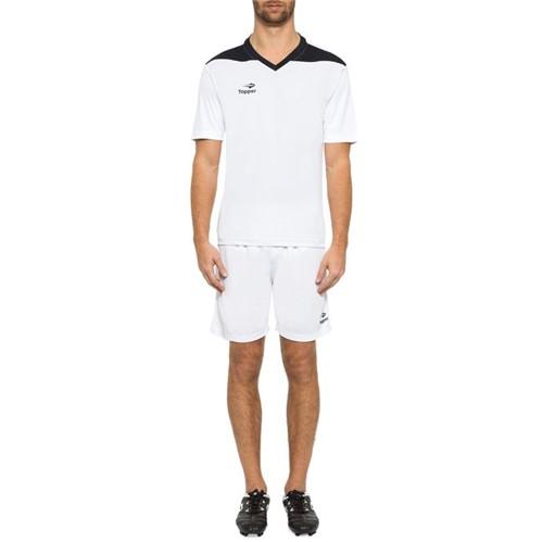 Camisa Topper Futebol Line Branco/Preto - 2