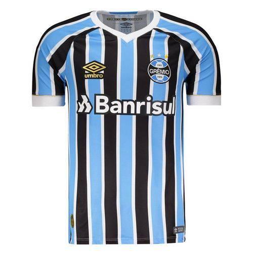 Tudo sobre 'Camisa Umbro Grêmio I 2018 Jogador'