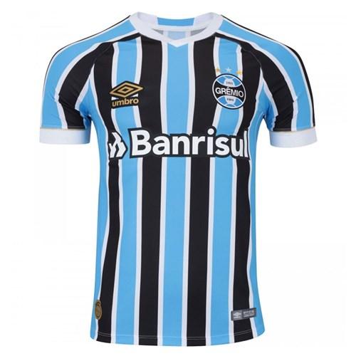 Camisa Umbro Grêmio Oficial 1 2018 (FAN PAT S/N) Azul