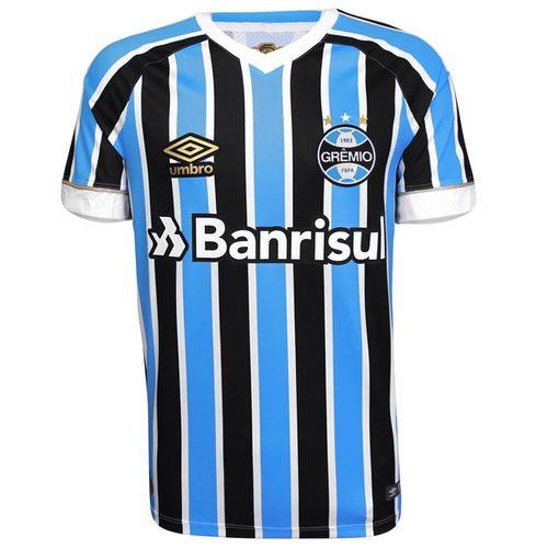 Camisa Umbro Masculina Grêmio Oficial I 2018 Game
