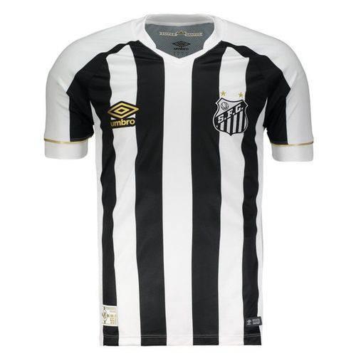 Tudo sobre 'Camisa Umbro Santos II 2018'
