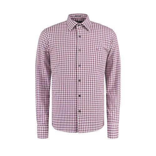 Camisa Vr Ft Xadrez Ml Rosa