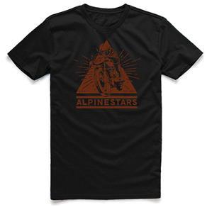 Camiseta Alpinestars Masculina Pinnacle - L - Preto