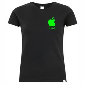 Camiseta Apple IPad Feminina - P - Branca