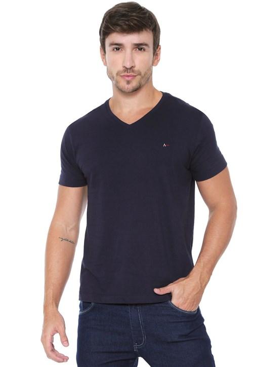 Camiseta Aramis Básica Azul-Marinho