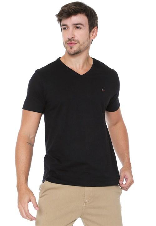 Camiseta Aramis Básica Preta