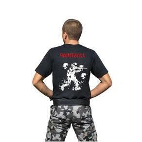 Camiseta Atack Militar Masculina - PRETO - G