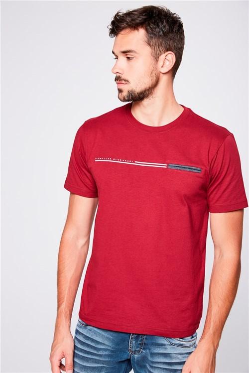 Tudo sobre 'Camiseta Básica com Bolso Masculina'