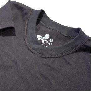 Camiseta Básica Gola V - Preto