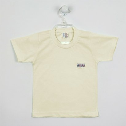 Tudo sobre 'Camiseta Bebê Unissex Manga Curta Branca-1'