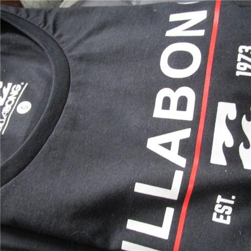 Camiseta Billabong Craftsman Surfwear Masculina (P, Preto)