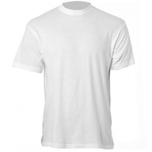 Camiseta Branca Manga Curta