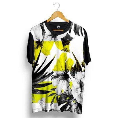 Tudo sobre 'Camiseta BSC Floral Full Print'