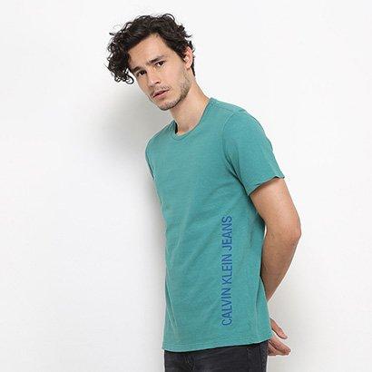 Camiseta Calvin Klein Estampa Lateral Masculina