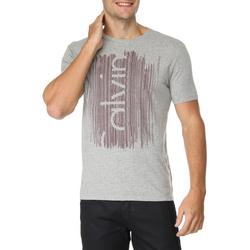 Camiseta Calvin Klein Jeans Estampa Logo Frontal
