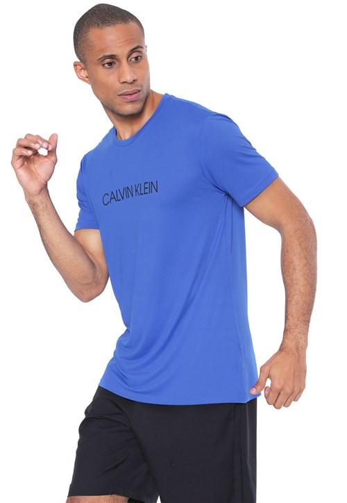 Camiseta Calvin Klein Logo Azul
