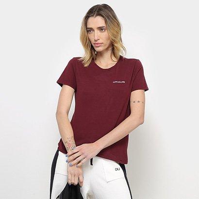 Camiseta Calvin Klein Mc Logo Feminina