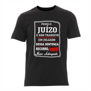 Camiseta de Direito Masculina - PRETO - P