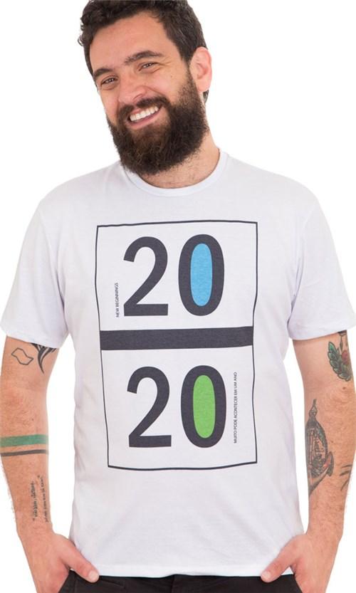 Camiseta Estampada 2020