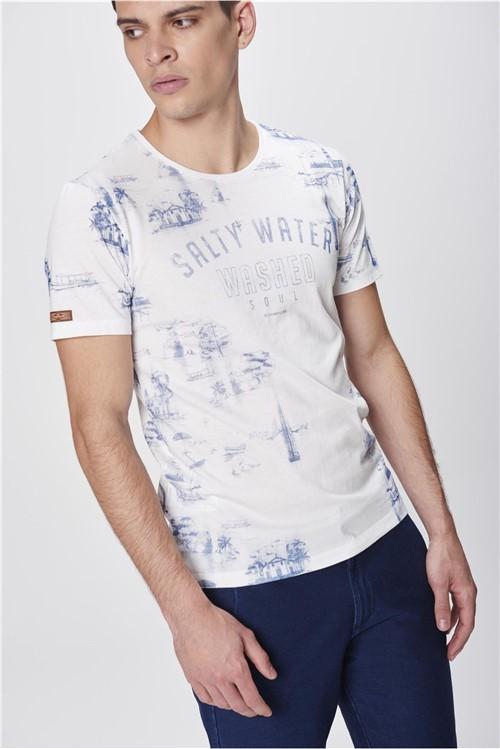 Camiseta Estampada Masculina