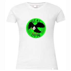 Camiseta Feminina Aventura: Geas Ufpf - P / Branca