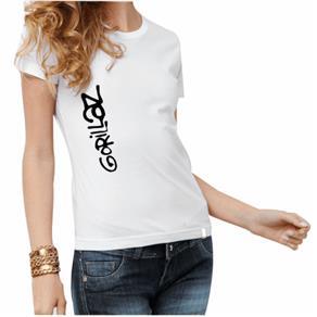 Camiseta Feminina Banda: Gorillaz - P - Branca