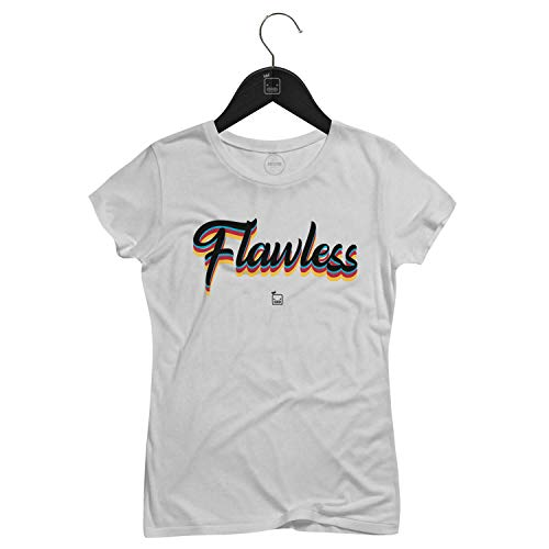 Camiseta Feminina Flawless   Branca - P