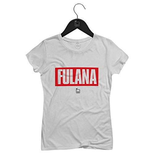 Camiseta Feminina Fulana   Branca - P