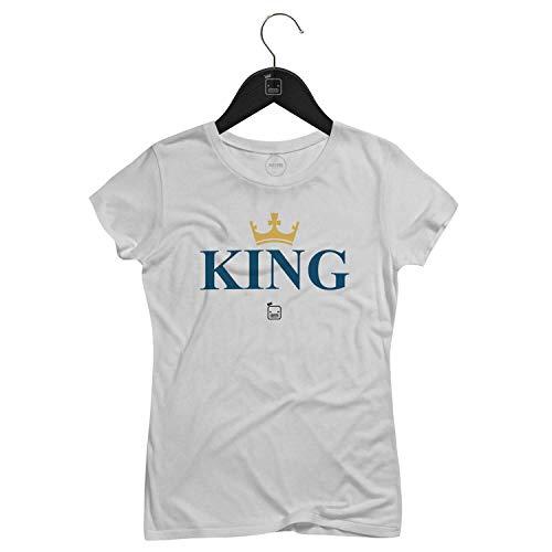 Camiseta Feminina King   Branca - P