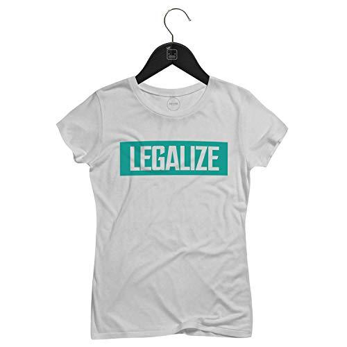 Camiseta Feminina Legalize   Branca - P