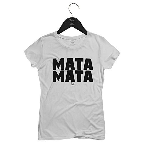 Camiseta Feminina Mata Mata   Branca - P