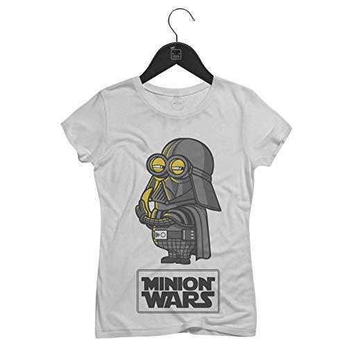 Camiseta Feminina Minion Wars   Branca - P
