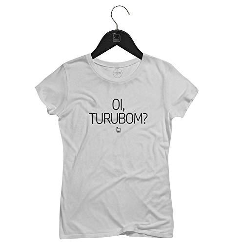 Camiseta Feminina Oi, Turubom?   Branca - P