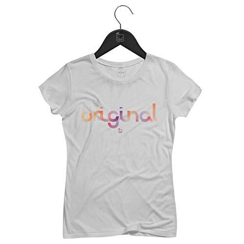 Camiseta Feminina Original   Branca - P