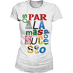 Camiseta Feminina os Paralamas do Sucesso - Type